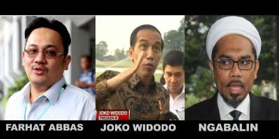 Kolaborasi Farhat Abbas, Ngabalin dan Jokowi, Publik Masih Percaya?