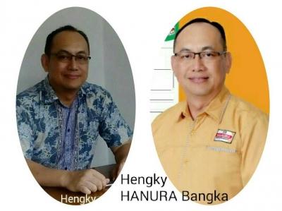 Hengky Hanura Calon Kuat Raih Kursi DPRD Bangka.