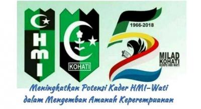 Milad Kohati HMI ke-52 di Ambon, Bawaslu Maluku Sosialisasi Pengawasan Pemilu Partisipatif