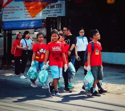 Sejarah Jalan Ampera Raya dan Sosialisasi NES Peduli