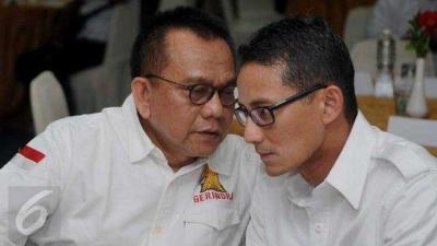 Setujukah Masyarakat DKI Jika M Taufik Menggantikan Sandiaga di Posisi Wagub?