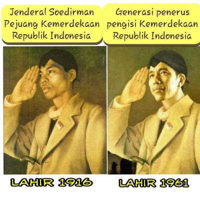 Satu Kalimat Bijak Jenderal Soedirman Ada Pada Diri Jokowi