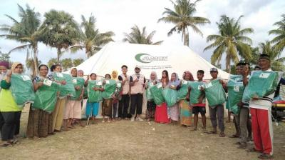 AMCF Bantu Korban Gempa di Sumbawa
