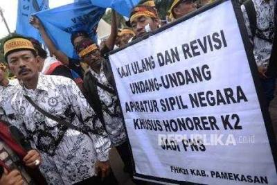 Meminta Kebijakan Presiden Jokowi untuk Batasan Umur Honorer K2