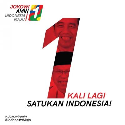 Pasangan Jokowi-Ma'ruf Amin Peroleh Nomor Urut Satu, Ini Makna dan Tafsirannya