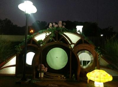Senja di BXC Hobbit Village