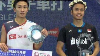 Ginting Juara Cina Terbuka 2018