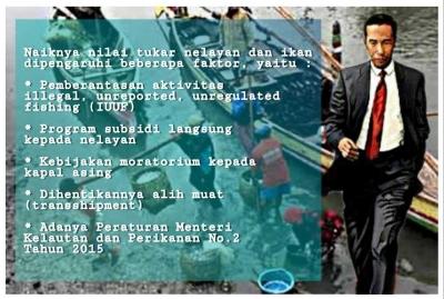 Bukti Kerja Jokowi, Kesejahteraan Nelayan dan Nilai Tukar Perikanan Meningkat
