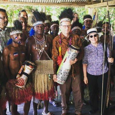 Mbappe Kampung Abar Sambut Dubes Perancis
