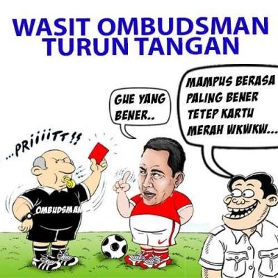 Wasit Ombudsman Turun Tangan