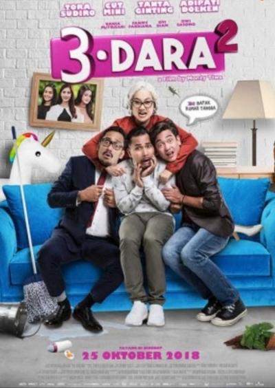 Ngepoin Trailer dan Poster Film 3 Dara 2
