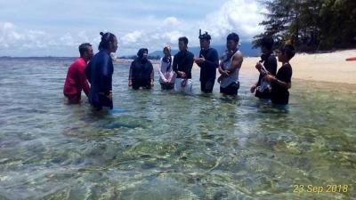Destinasi Wisata Pulau Gosong