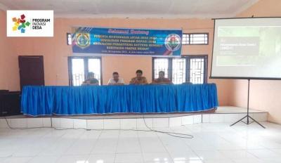 Kecamatan PGGS Gelar MAD 1 Program Inovasi Desa