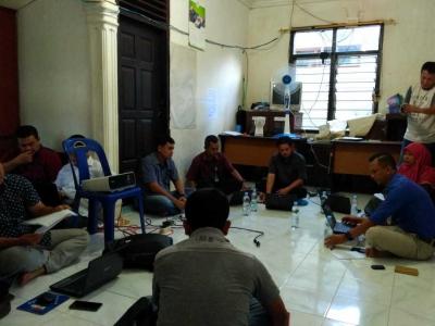 Pendamping Desa Aceh Barat Daya Melakukan IST Aplikasi Sipede