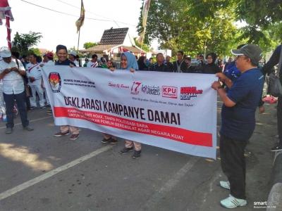 Deklarasi Kampanye Damai di Kalsel, Ajang Silaturahmi Seluruh Parpol