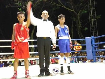 Lawan Tangguh Petinju Bantaeng Tetap Capai Semifinal