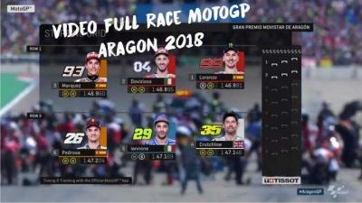 Motogp Aragon 2018 ini Video Full Race nya