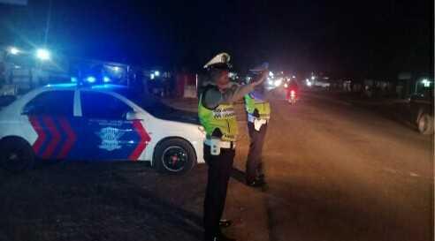 Polres Banyuasin Siagakan Personil di Titik Rawan Macet dan Laka