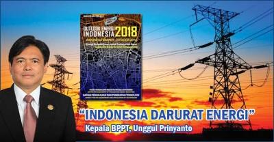 BPPT Sebut Indonesia Darurat Energi dan Butuh 8.000 MW PLTN