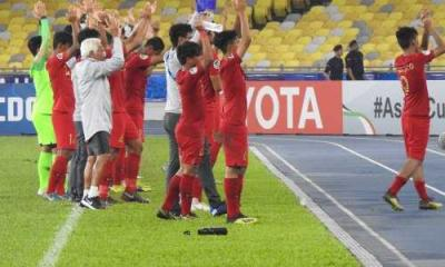 Timnas Indonesia U-16 Puncaki Grup C Piala Asia 2018