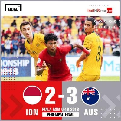 Pulanglah dengan Kepala Tegak Timnas Indonesia U-16
