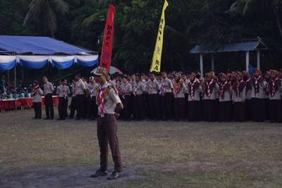 Bakti Sosial Berbagi Sembako untuk Dhuafa Warnai Kemah Bakti MAN 3 Banyuwangi 2018