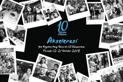 Sambut 10 Tahun Kompasiana dengan Video Menarik Versimu!