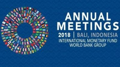 Mereduksi Perdebatan Anggaran Tuan Rumah Pertemuan Tahunan IMF dan World Bank 2018