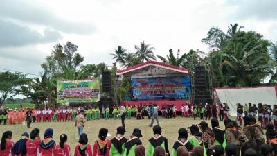 Istimewa, Kwarran Songgon Canangkan Program Kampung Pramuka Banyuwangi