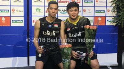 Third Time Lucky, Wahyu Nayaka/Ade Yusuf Juara Dutch Open 2018