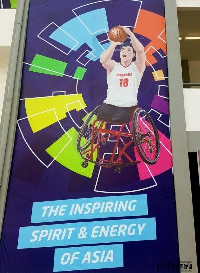 Semangat, Inspirasi dan Energi Asian Para Games 2018