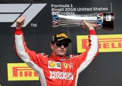 F1 GP Austin (US) 2018, Kado Indah untuk Kimi Raikkonen
