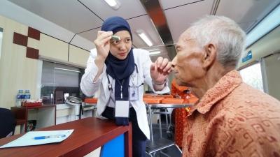 Warga Delanggu Nikmati Layanan Kesehatan Gratis di Rail Clinic