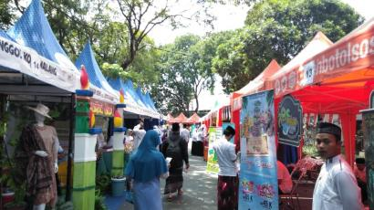 Sukses, Bazar Wisata Halal di Malang