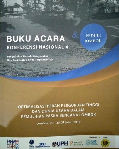 Konferensi Nasional ke-4 PKM dan CSR, Hadir Peduli Korban Gempa di Lombok