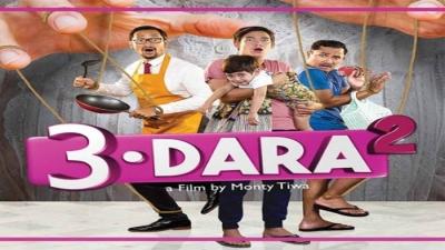 """Film  """"3 Dara 2"""", Humor Keluarga Papan Atas ala Dunia Terbalik"""
