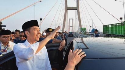 Jokowi Gratiskan Tol Suramadu, Ia Dilaporkan ke Bawaslu