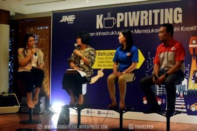 Semangat Prospek Positif UMKM Balikpapan dalam Event Kopiwriting JNE X Kompasiana