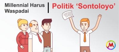 Millennial harus waspadai Politik 'Sontoloyo'