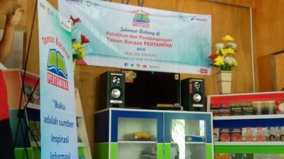 Pelatihan dan Pendampingan Taman Bacaan Pertamina di Kalimantan Timur