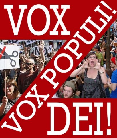 Vox Populi Vox Dei, Suara Rakyat adalah Suara Tuhan