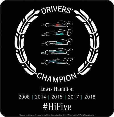 TIBCO Ucapkan Selamat Kepada Pembalap Lewis Hamilton