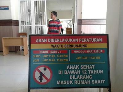 Jangan Bawa Anak Menjenguk ke Rumah Sakit
