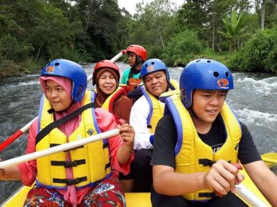 Pegipegi Yuk, Ngarung Jeram ke Sungai Pesangan Aceh