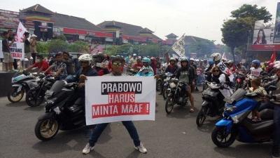 Akhirnya Prabowo Minta Maaf
