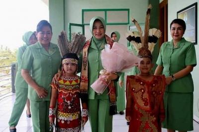 Ketua Persit Nyonya Sita: Persit Tanjungpura Sangat Luar Biasa