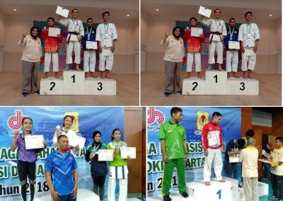 Esa Unggul Raih 11 Medali di Ajang Pekan Olahraga Mahasiswa (POMPROV) ke-7