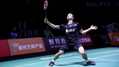 Fuzhou China Open 2018, Ini Perbedaan Anthony Ginting dan Jonatan Christie