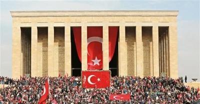 Begini Cara Warga Turki Memperingati Pahlawan Setiap 10 November