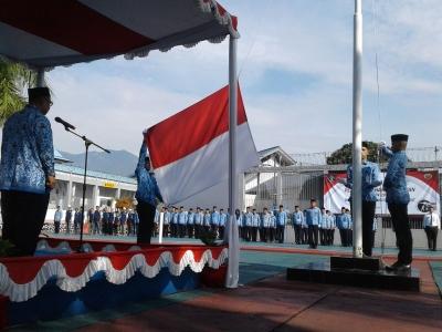 Rutan Garut Peringati Hari Pahlawan